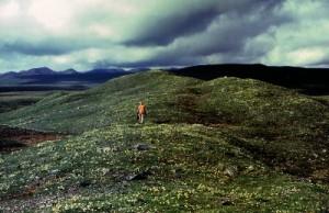Glacial deposits in the Brooks, Range, Alaska