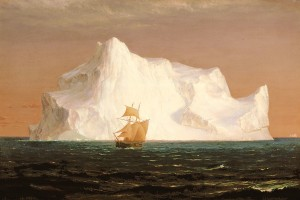 The Iceberg by Frederic E. Church (1891)