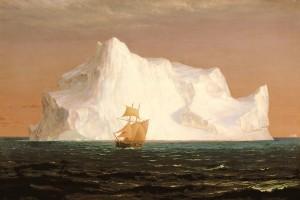 The Iceberg by Frederic E. Church (1891)