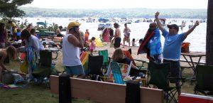 Summer at Higgins Lake