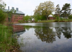 Swan Lake and Chemistry Building