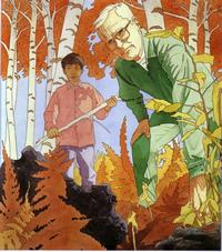 Gustav Moore Painting