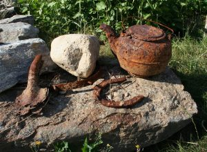 Rusty artifacts