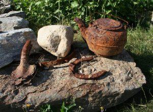 Rusty artifacts